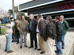 Notícias da RTP relacionado com o despedimento coletivo no Casino Estoril.