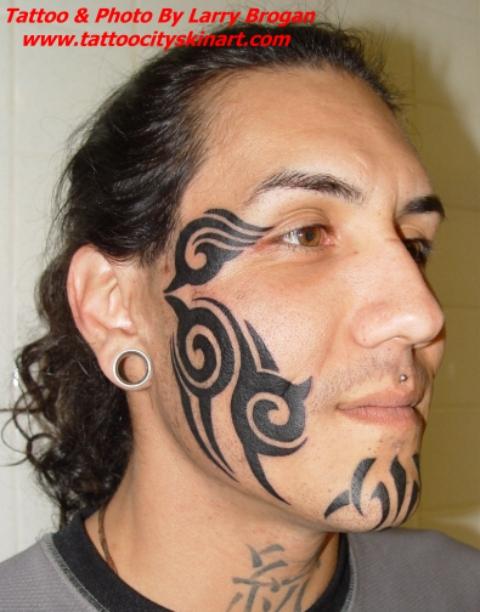 Gothic facial designs the local