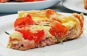 Receita: Torta de falso folhado de atum