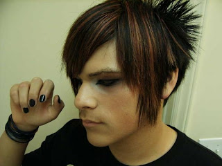 Boys Emo Hairstyle Haircuts Pictures