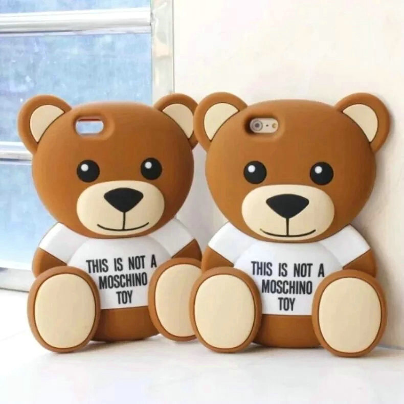 alles ber handy und handy zubeh re sehr beliebt 2015 moschino 39 s teddy b r collection tpu. Black Bedroom Furniture Sets. Home Design Ideas