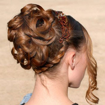easy prom updos for long hair. simple prom updos for short