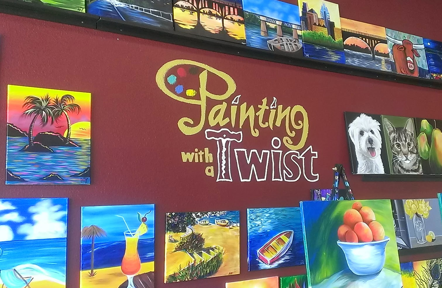 Picture of Painting With A Twist In Orlando