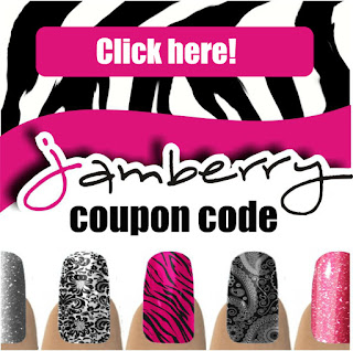 Click here to see the exclusive fans only Jamberry Nails #nailart coupon code