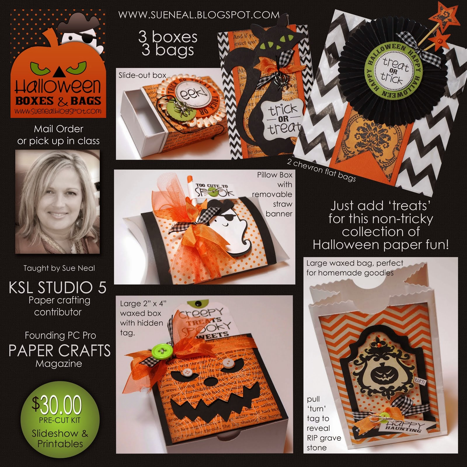 New Halloween Boxes & Bags Kit