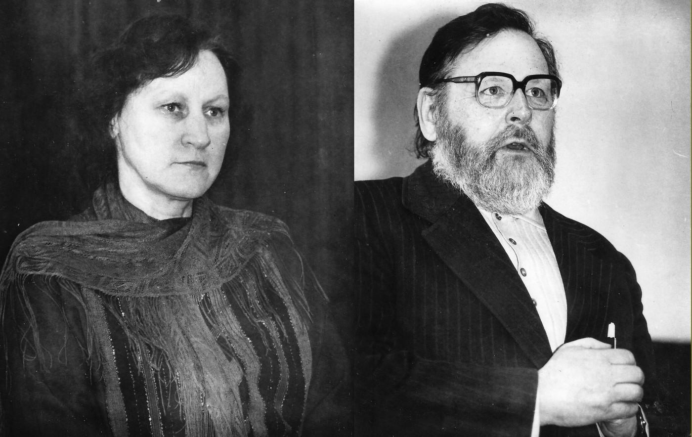 Māra Svīre un Vladimirs Kaijaks