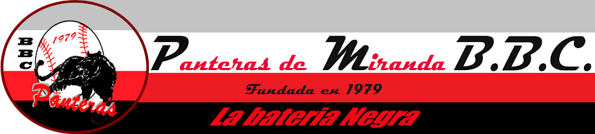 PANTERAS DE MIRANDA BBC (Fundada en 1979)