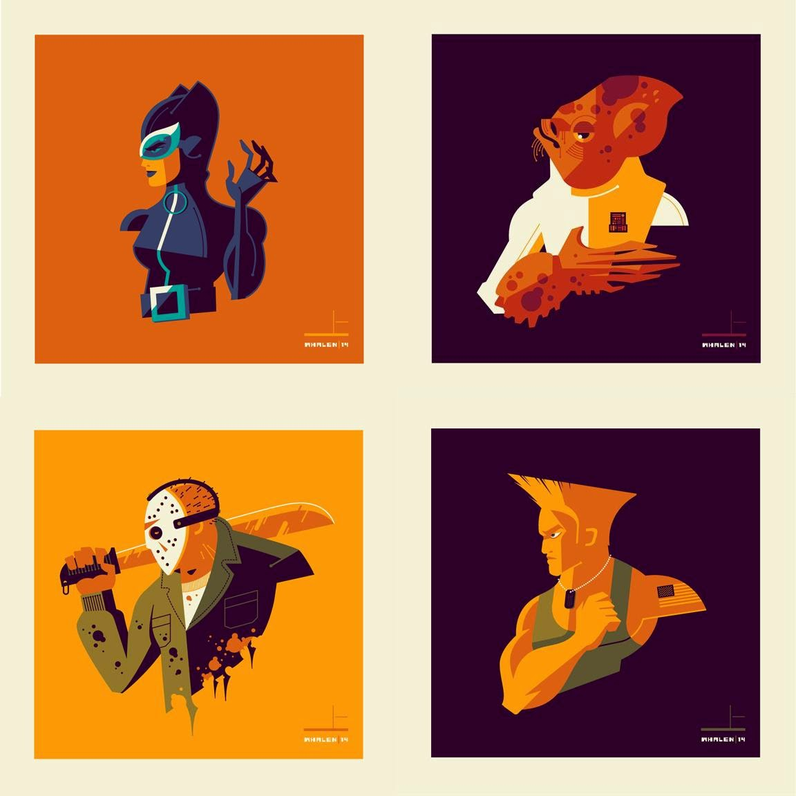 """Bust'd"" Solo Art Show by Tom Whalen"