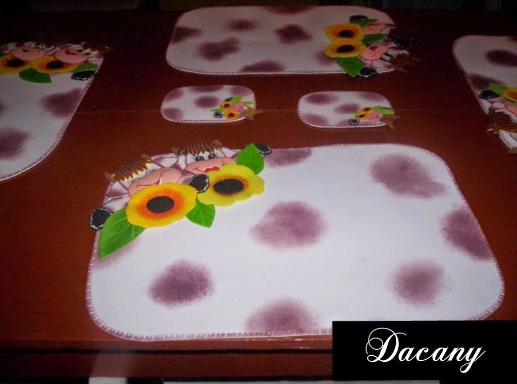 Dacany: decoraciones para la cocina en foami