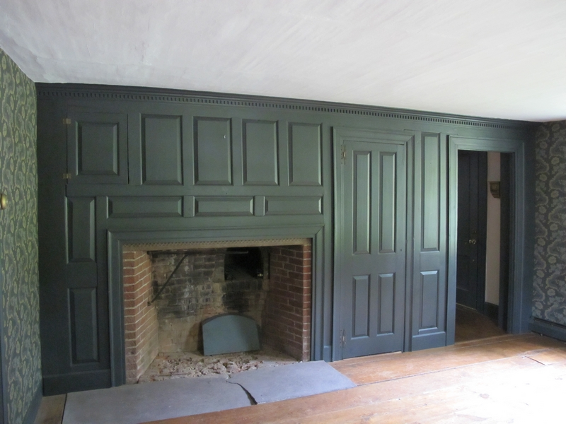 Colonial Wall Paneling : The parlor confessions of an antique home