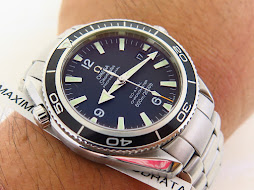 OMEGA SEAMASTER PROFESSIONAL 42mm BLACK BEZEL aka OMEGA PLANET OCEAN-CO AXIAL CAL 2500 CHRONOMETER