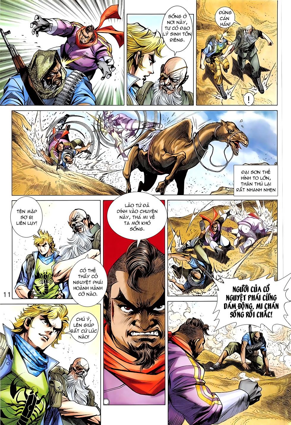 Tân Tác Long Hổ Môn chap 793 Trang 11 - Mangak.info