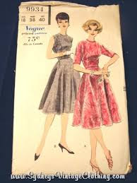 Vintage Vogue Clothes Pattern