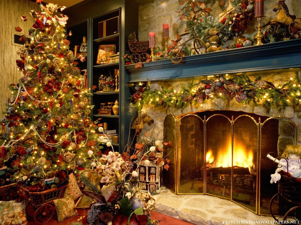 Christmas Interior Design Delectable Night Home Beauty Christmas Interior Design  Campus Home