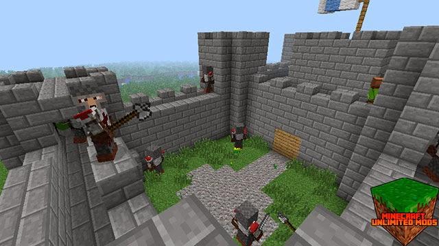 AgeCraft Adventure Mod castillo