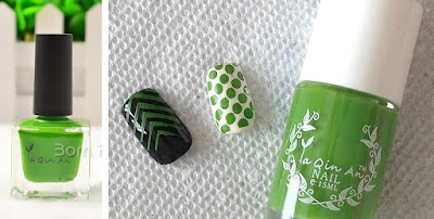 Born Pretty Stamping Polish ya qin an 18 ml light green