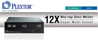 blue-ray drive plextor px-b940sa