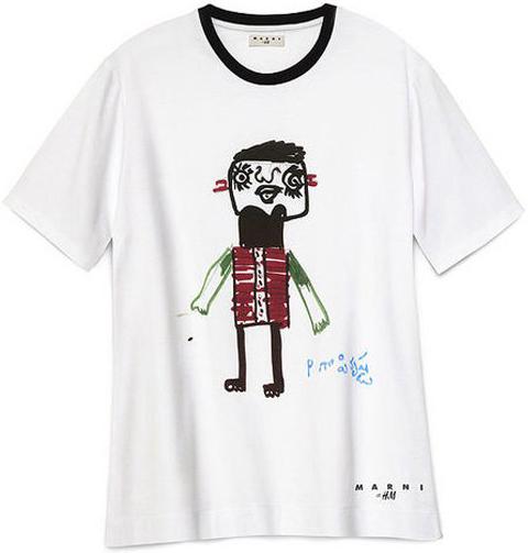 camiseta solidaria Marni H&M