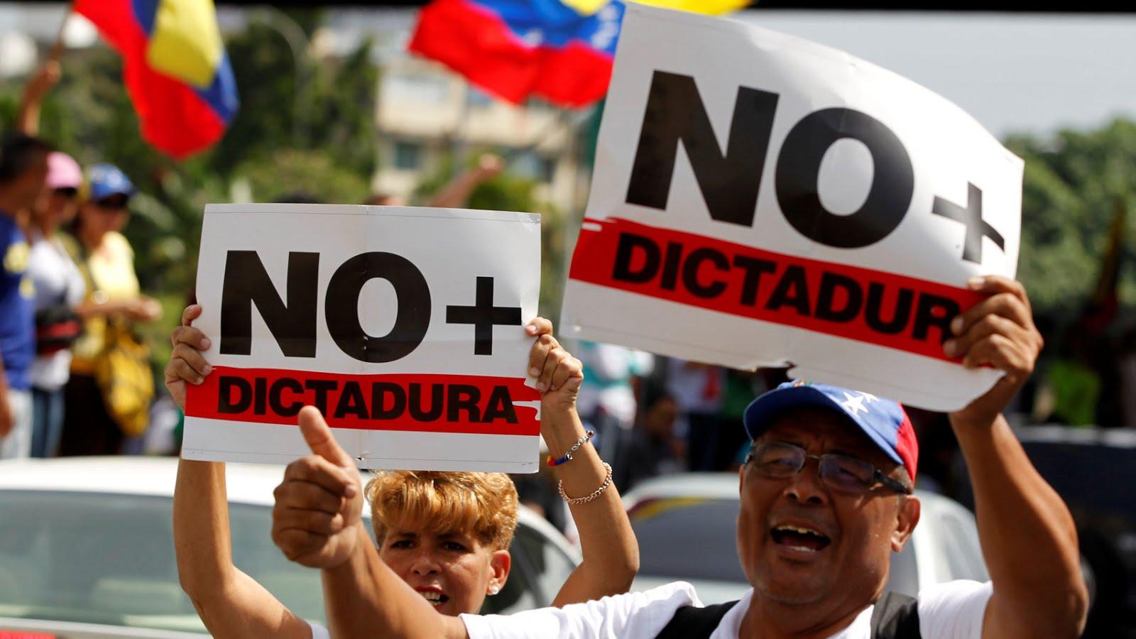 NO + DICTADURAS