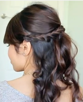 Updo Hairstyle for Prom for Long Hair