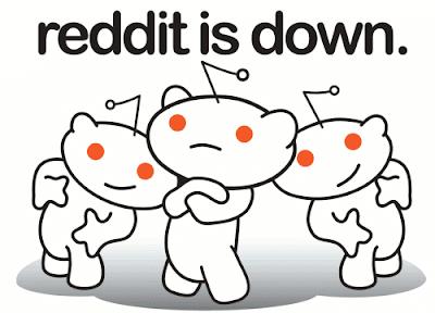 Reddit is down