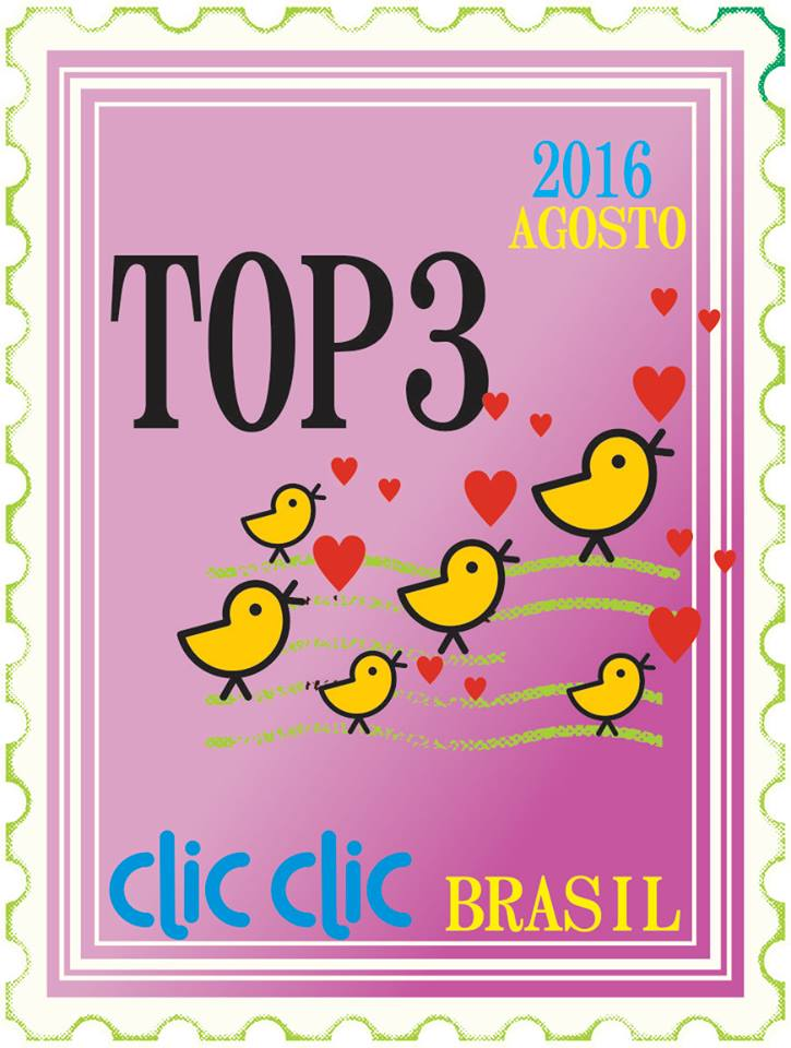 Eu fui Top3 - Agosto/2016