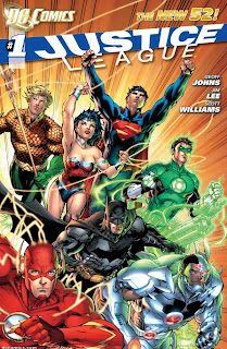 Justice League #1 - 365 Days of Comics