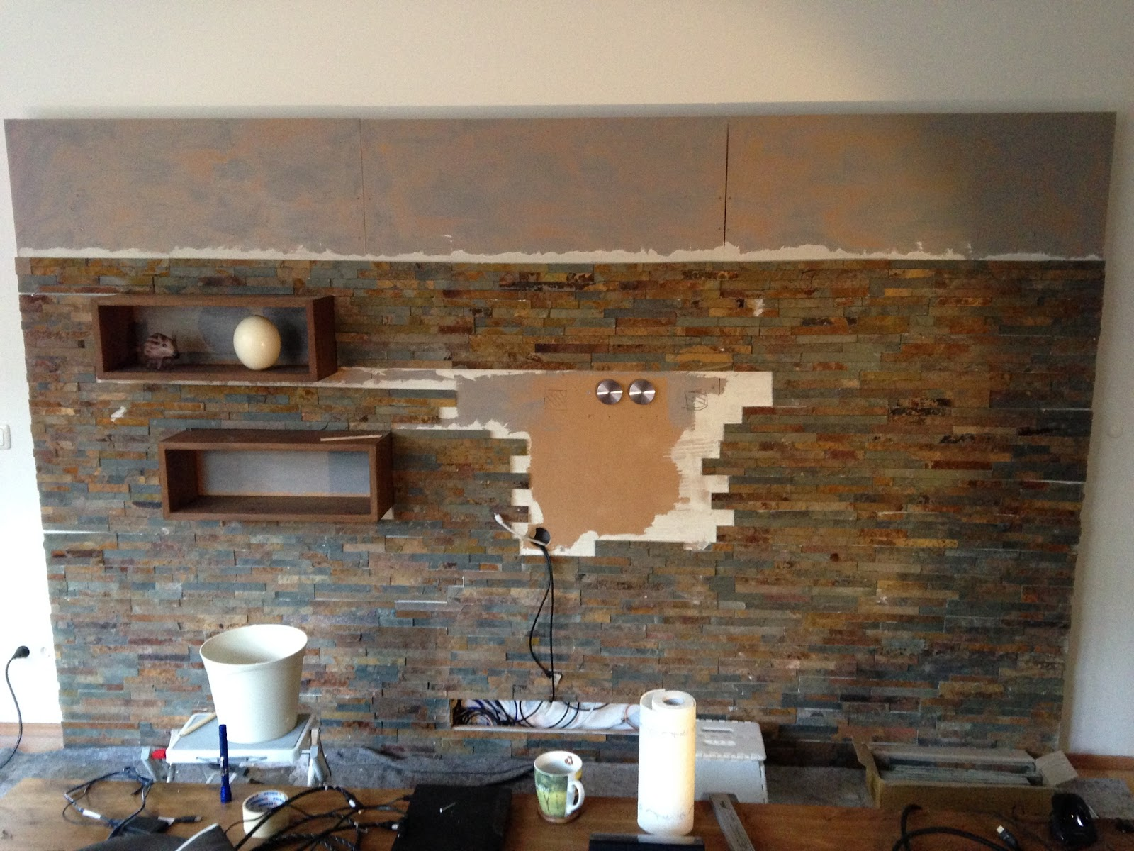 wandgestaltung wohnzimmer naturstein ~ deeviz for .