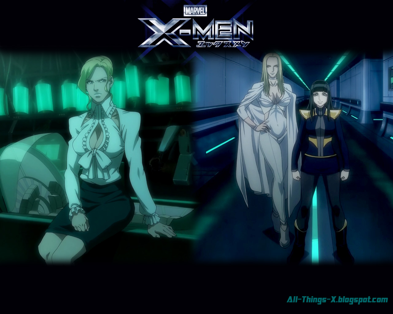 Wolverine X Men Anime Screens Concept Art