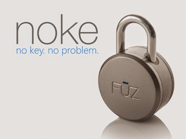 Noke Pad Lock - New Bluetooth key