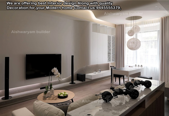 Contractors in chennai modern living room ideas living for Living room designs chennai