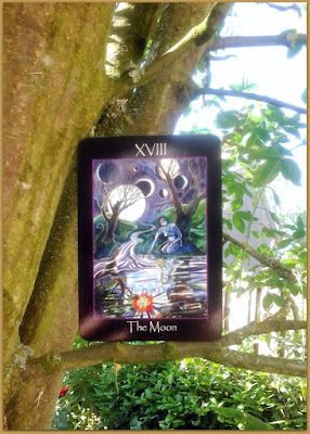 Tarot of the Sidhe,The Moon, Emily Carding
