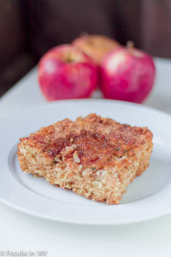 Click for Recipe for Apple Sage Cake