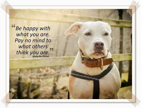 """""""Be Happy With Who You Are"""""""