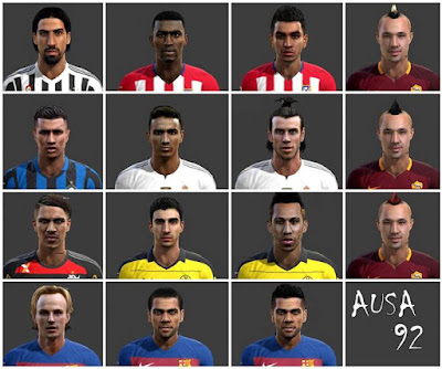 PES 2013 Facepack 2500 Likes By AUSA92