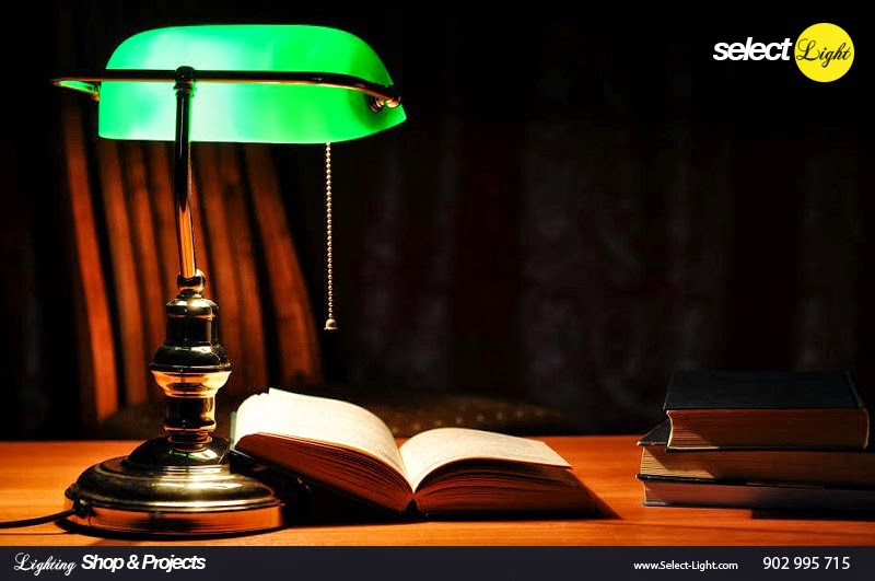 Banker´s, Emeralite Lamp - Harrison McFaddin