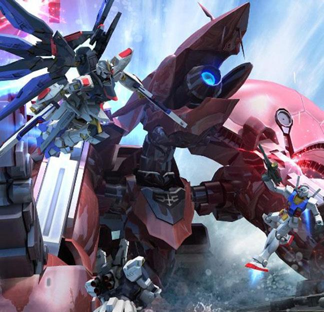 Gundam guy gundam build fighters op theme song nibun no for Domon in gundam build fighters