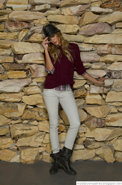 Vov Jeans Moda otoño invierno 2012. Moda y Tendencias en Buenos Aires.