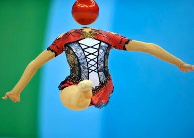 新体操。ボール競技