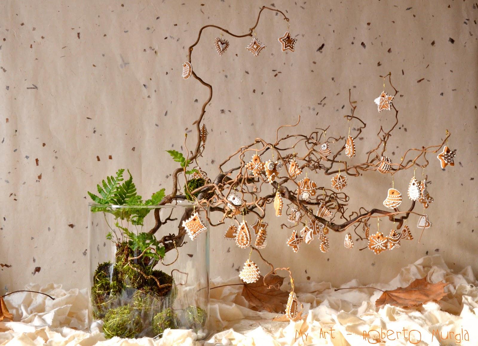 My art roberto murgia composizione tra natura e - Rami decorativi per vasi ...