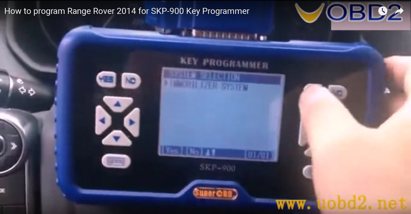 how to use tango key programmer