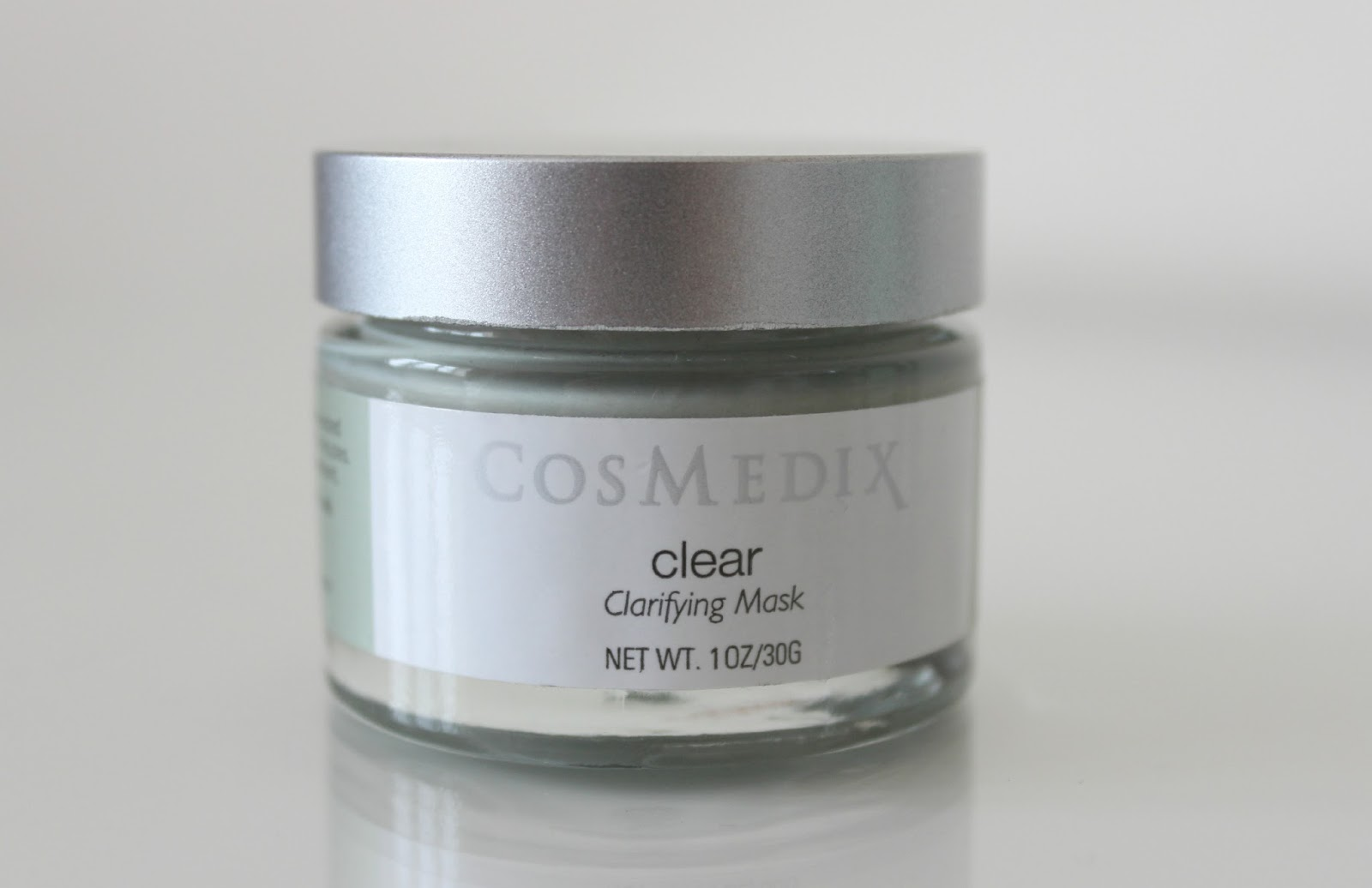 A picture of the CosMedix Clear Clarifying Mask