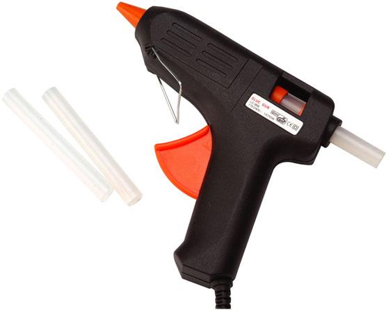 Roberto pistola termofusible for Pistola de pegamento o de silicona