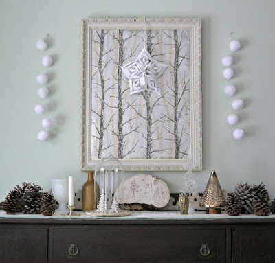 Winter Vignette Ideas
