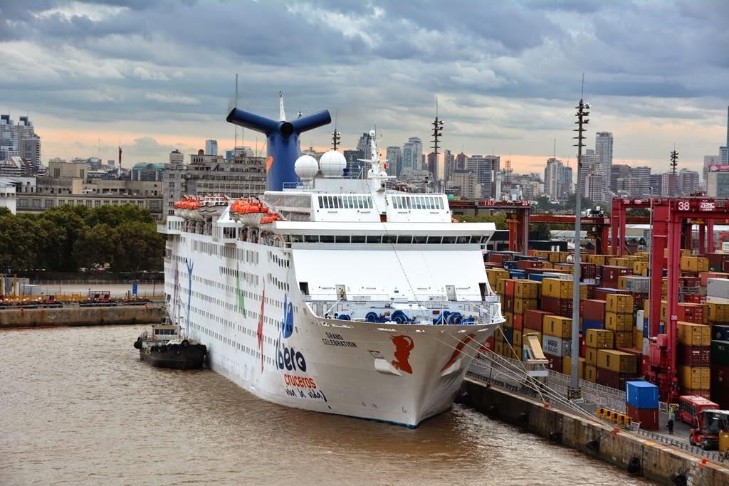 Port of Buenos Aires Ibero Cruises