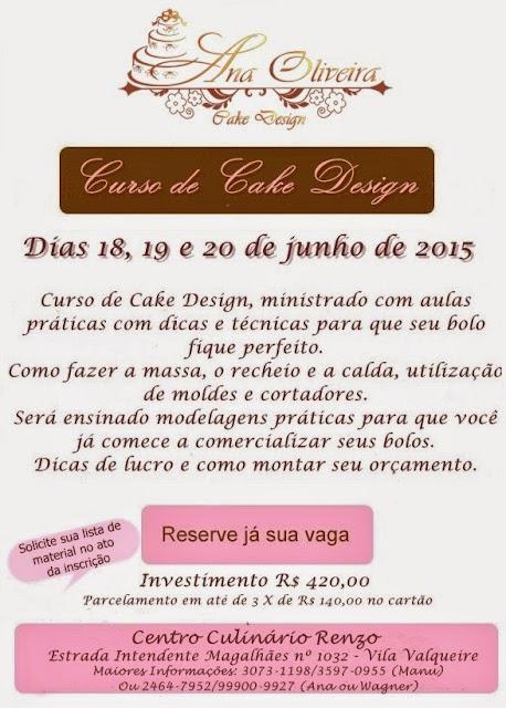 Curso De Cake Design Viseu : Bolos Decorados Artisticos Rio de Janeiro