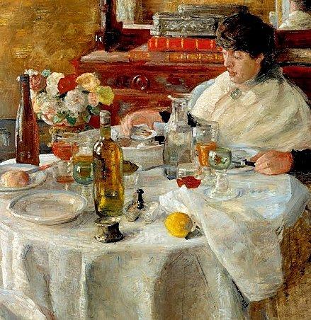 Repas d'antan .... ENSOR-1882--la-mangeuse-d-huitres-2
