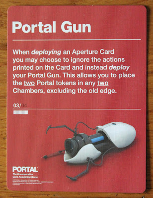Portal board game - portal gun