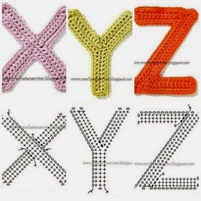 Crocheting Numbers : Crochetpedia: Crochet Letters and Numbers for appliqueing and decor