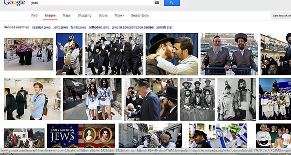 google search results for Jews